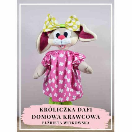 ebook króliczek dafi pluszak maskotka wielkanocny